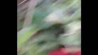 झाड़ियो मे देसी बड़े बूब्स का वीडियो बनाया